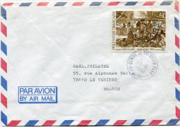 POLYNESIE LETTRE PAR AVION DEPART CENTRE-DE-TRI-AVION-FAAA 23-11-1993 ILE-DE-TAHITI  POUR LA FRANCE - Polynésie Française