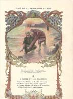 Chromo Phosphatine Falieres Fable De La Fontaine   L'huitre Et Les Plaideurs - Autres
