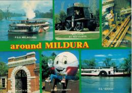 MILDURA   VICTORIA   A FEW OF INTERESTING ATTRACTIONS AROUND  MILDURA       (VIAGGIATA) - Mildura