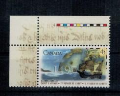 Canada Emissione Congiunta Italia Canada 1997 Viaggio Caboto ** MNH - 1952-.... Regno Di Elizabeth II