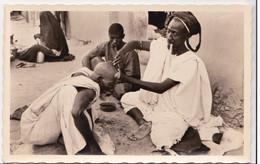CP Photo Le Coiffeur à Tombouctou  Collection G. LABITTE - Soudan