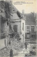 BERGUES  (cpa 59)  (19)  Bombaredement De Bergues  La Rue De La Gare - - Guerre De 1914/1915  - - Bergues