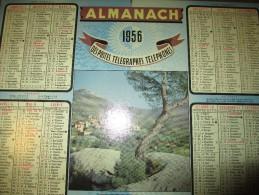 Almanach Des Postes -Télégraphes-Téléphones/ Le Revest ( Var)/Eure Et Loir/ OLLER/1956    CAL234 - Grossformat : 1941-60