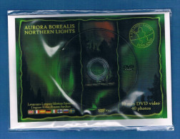 Carte DVD - AURORA BOREALIS - NORTHERN LIGHTS - Dvd 10 Minutes - 40 Photos - Sous Blister Fermé. - Astronomie