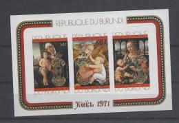 Blok 51/52 ** + Blok 51A/52A ** - Burundi