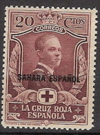 Sahara 016 * Cruz Roja 1926. Charnela - Spanish Sahara