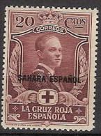 Sahara 016 * Cruz Roja 1926. Charnela - Spanische Sahara