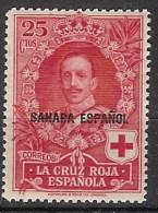 Sahara 017 * Cruz Roja 1926. Charnela - Spanische Sahara
