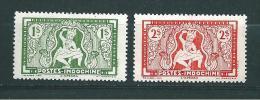 Colonie Timbres D´indochine De 1943  N°234/35  Neuf  ** Sans Charnière - Unused Stamps