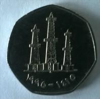 Monnaie - Emirats Arabes Unis - 50 Fils 1973 - Superbe - - United Arab Emirates