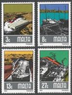 Malta. 1982 Shipbuilding Industries. MNH Complete Set. SG 686-699 - Malta