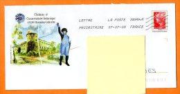 43 CHAVANIAC LAFAYETTE CHATEAU ET CONSERVATOIRE BOTANIQUE Lettre Entière N° V 950 - PAP : Bijwerking /Beaujard