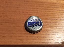 "Ancienne Capsule de soda ""SOURCE DE BRU"" Belgique"