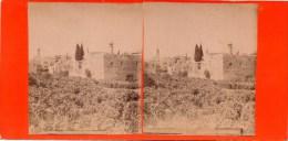 Stereofoto - Jerusalem - Stadtansicht Ca 1895 Israel Palestina - Stereoscopi