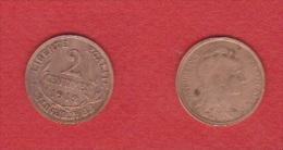 2 Centimes  1912  //   TTB - B. 2 Centimes