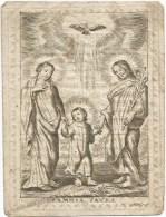 296.PAULUS FEYTMANS - Jongman - Geb. Te S. LAMB.-HERCK - Overleden Te HASSELT 1821 - Imágenes Religiosas