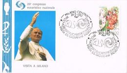 16203. Carta F.D.C. MILANO (Italia) 1983. Papa  Juan Pablo II - F.D.C.