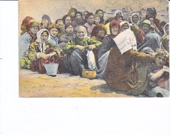 Refugies Grecs Femmes Originaires D Asie Mineures En Couleurs Grece - Grecia