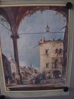 PEINTRE  Francesco Guardi,gouache Vénitienne - Old Paper