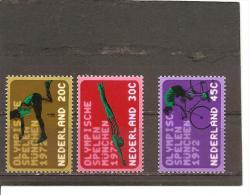 Holanda-Holland  Nº Yvert  960-62 (MNH/**) - Periodo 1949 – 1980 (Juliana)