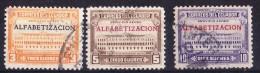 Ecuador 1950 Literacy Campaign Set - Fine Used - Ecuador