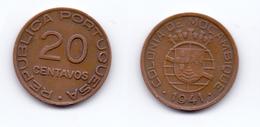 Mozambique 20 Centavos 1941 - Mozambique