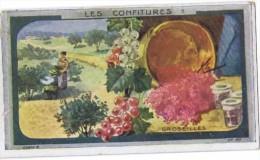 Cromo  LES CONFITURES GROSEILLES (au Dos Au Planteur De Caiffa) - Non Classés