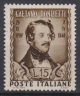 MB 2887) Italien Mi# 762 **: Gaetano DONIZETTI, Komponist - Musica