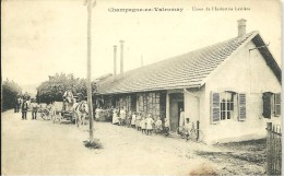 Champagne En Valromey Usine Laitière - Frankrijk