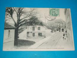 25 ) Besançon - N° 590 - Place Du Jura - Tram - Encienne Place Du Transmarchement  Année 1907 - EDIT: - Besancon