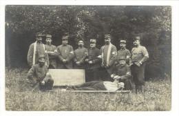 SEINE  /  PIERREFITTE  1914  /  INFIRMIERS  1ère Compagnie  ( Brancardiers, Ambulanciers, Croix-Rouge ) /  CARTE-PHOTO - Guerre 1914-18