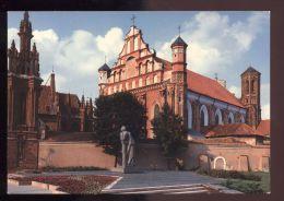 B473 VILNIUS - MONUMENT TO ADAM MICKIEWICZ - Lituania