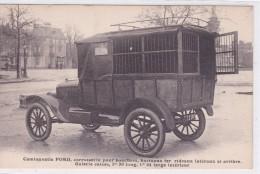 Camionnette Ford, Carrosserie Pour Bouchers, Barreaux Fer, Rideaux Latéraux Et Arrière.. - Dijon