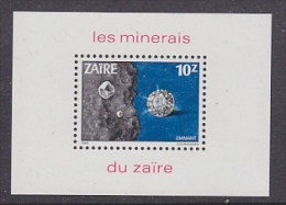 Zaire 1983 Minerals M/s ** Mnh (26778B) - Zaïre