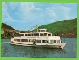 AK Luxemburg -  Ansichtskarte Vom Passagierschiff Marie-Astrid - Mosel - Flussschifffahrt - Remich