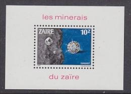 Zaire 1983 Minerals M/s ** Mnh (26778C) - Zaïre