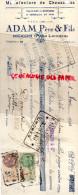 87 - NEXON - TRAITE ADAM PERE & FILS- MANUFACTURE CHAUSSURES- 1931  FABRIQUE GALOCHES - France
