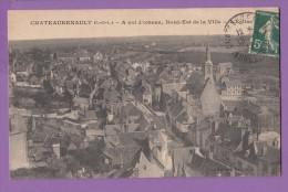 37 CHATEAURENAULT à Vol D'oiseau L'église - Andere Gemeenten