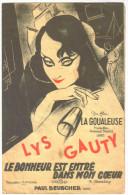 """Partition Ancienne 1938 """"le Bonheur Est Entré Dans Mon Coeur"""" Lys Gauty - Partitions Musicales Anciennes"""