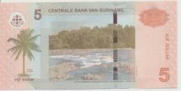 SURINAME P. 162 5 D 2010 UNC - Surinam