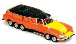 Citroën DS Mille Pattes - 1970 - Orange, Jaune, Noir - Magazine Models (Norev) - Voitures, Camions, Bus