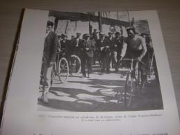 CYCLISME COUPURE LIVRE F019 TOUR 1905 Louis TROUSSELIER Au Dos René POTTIER - Sport