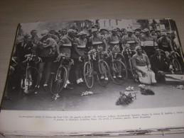 CYCLISME COUPURE LIVRE F057 TOUR De FRANCE 1933 EQUIPE De FRANCE Joséphine BAKER - Sport