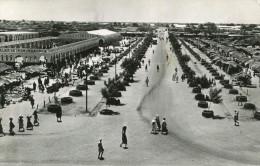 TCHAD FORT LAMY - Vue g�n�rale du march� prise de la mosqu�e