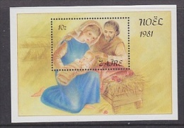 Zaire 1981 Christmas M/s ** Mnh (26782AG) - Zaïre