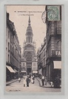 LE HAVRE - 76 - EDIFICES - EGISES - Eglise Saint-Michel Et Rue D'Igouville - Animation - Andere