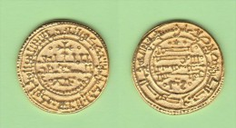 ALFONSO VIII  REY DE CASTILLA  1.158-1.214   MARAVEDI-ORO  Réplica   T-DL-11.227 - Counterfeits