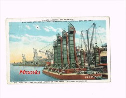 Cristobal Panama, Coaling Plant, Canal Zone, Planta Carbonera 1927 - Panama