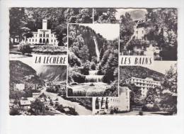 LA LECHERE LES BAINS (73-Savoie) Etablissement Thermal, Hôtel Des Bains, Cascade Du Morel, Hôtel Radiana, Ed.Jansol 1965 - Autres Communes
