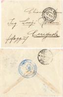 C139) TRIPOLITANIA - 1913 FRANCHIGIA MILITARE DA MISURATA MARINA - Tripolitania